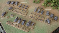 The German battlegroup